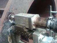 Drilling Base Bolt Holes