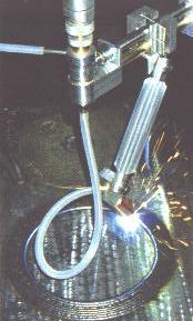 Bore Repair Radial Torch Welding