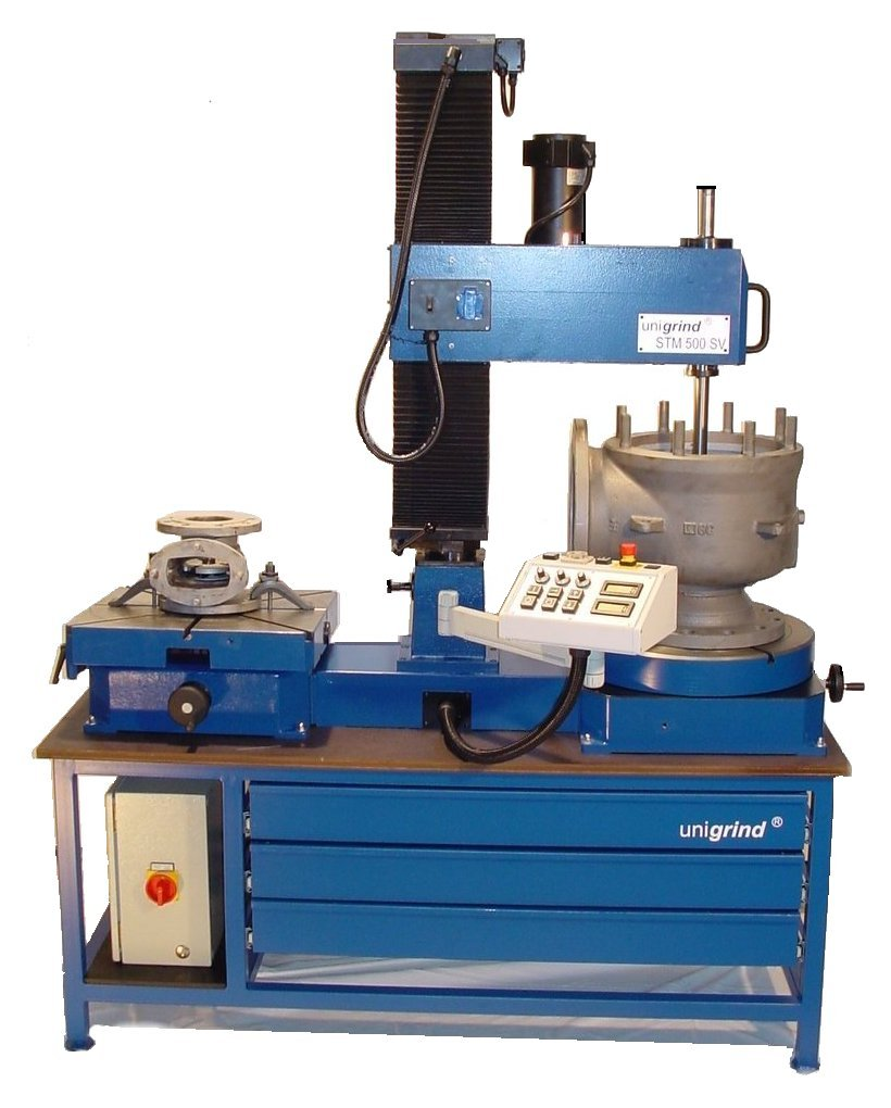 Unigrind STM Stationary Valve Grinding & Lapping Machine